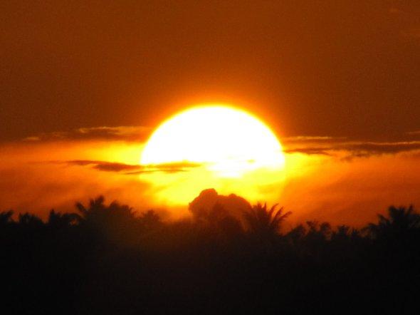 Anguilla sunset....